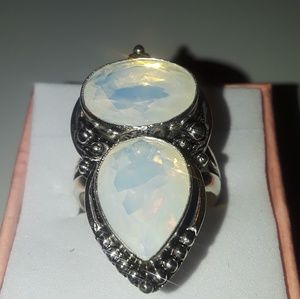 Ring size 8 double opalite brand new